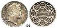 Deutsche Münzen und Medaillen,Bayern Ludwig I. 1825 - 1848 Geschichtsdoppeltaler 1838.  Einteilung des Königreichs.  Kahnt 103.  Thun 76.  AKS 99.  Jg. 67.  Dav. 582.