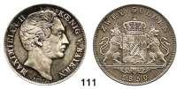 Deutsche Münzen und Medaillen,Bayern Maximilian II. 1848 - 1864 Doppelgulden 1850.  Kahnt 117.  Thun 90.  AKS 150.  Jg. 83.  Dav. 600.