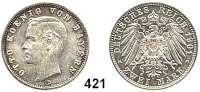 R E I C H S M Ü N Z E N,Bayern, Königreich Otto 1886 - 1913 2 Mark 1901.