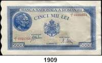 P A P I E R G E L D,AUSLÄNDISCHES  PAPIERGELD Rumänien 5000 Lei 28.9.1943.  Pick 55.  LOT 30 Scheine.  29 Scheine aus dem Nummernbereich 0995364 bis 0995394.