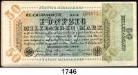 P A P I E R G E L D,Weimarer Republik  50 Milliarden Mark 10.10.1923.