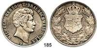 Deutsche Münzen und Medaillen,Braunschweig - Wolfenbüttel Wilhelm 1831 - 1884 Doppeltaler 1856 B.  Kahnt 158.  Thun 122.  AKS 97.  Jg. 252.  Dav.635.