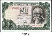 P A P I E R G E L D,AUSLÄNDISCHES  PAPIERGELD Spanien 500 Pesetas 23.7.71.  1000 Pesetas 17.9.71.  1000 Pesetas 23.10.1979.  Pick 153, 154, 158.  LOT 3 Scheine.