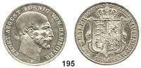 Deutsche Münzen und Medaillen,Braunschweig - Calenberg (Hannover) Ernst August 1837 - 1851 Ausbeutetaler 1851 B.  Kahnt 236.  Thun 169.  AKS 134.  Jg. 81.  Dav. 677.