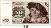 P A P I E R G E L D,BUNDESREPUBLIK DEUTSCHLAND  50 Deutsche Mark 2.1.1980.  KM...K.  Ros. BRD-32 a.