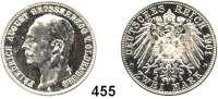 R E I C H S M Ü N Z E N,Oldenburg, Großherzogtum Friedrich August 1900 - 1918 2 Mark 1901.