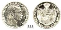 Deutsche Münzen und Medaillen,Schaumburg - Lippe Georg Wilhelm (1787) 1807 - 1860 Vereinstaler 1860 B.  Kahnt 525.  Thun 389.  AKS 5.  Jg. 15.  Dav. 909.