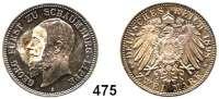 R E I C H S M Ü N Z E N,Schaumburg - Lippe Georg 1893 - 1911 2 Mark 1898.