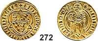 Deutsche Münzen und Medaillen,Pfalz Ruprecht II. 1390 - 1398 Goldgulden o.J., Oppenheim.  3,47 g.  Fb. 1970 a.  GOLD