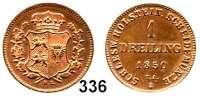 Deutsche Münzen und Medaillen,Schleswig - Holstein, königliche Linie Statthalterschaft 1848 - 1851 Dreiling 1850 T. A.  AKS 14.  Jg. 15.