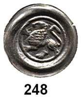 Deutsche Münzen und Medaillen,Lüneburg, Herzoglich Welfische Münzstätte Wilhelm 1195 - 1213 Brakteat.  0,56 g.  Löwe nach links.  Slg. Bonhoff 76.