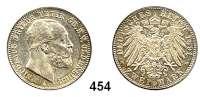 R E I C H S M Ü N Z E N,Oldenburg, Großherzogtum Nicolaus Friedrich Peter 1853 - 1900 2 Mark 1891.