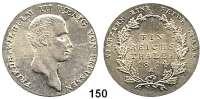 Deutsche Münzen und Medaillen,Preußen, Königreich Friedrich Wilhelm III. 1797 - 1840 Taler 1814 A.  Kahnt 362.  Thun 244.  AKS 11.  Jg. 33.  Dav. 756.