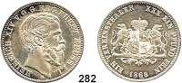 Deutsche Münzen und Medaillen,Reuß Jüngerer Linie (Schleiz) Heinrich XIV. 1867 - 1913 Vereinstaler 1868 A.  Kahnt 409.  Thun 288.  AKS 41.  Jg. 136.  Dav. 803.