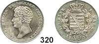 Deutsche Münzen und Medaillen,Sachsen - Coburg und - Gotha Ernst I. (1806) 1826 - 1844 10 Kreuzer 1836.  AKS 80.  Jg. 260.