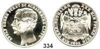Deutsche Münzen und Medaillen,Schaumburg - Lippe Adolf Georg 1860 - 1893 Vereinstaler 1865 B.  Kahnt 527.  Thun 390.  AKS 19.  Jg. 16.  Dav. 910.