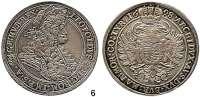 Römisch Deutsches Reich,Haus Habsburg Leopold I. 1657 - 1705 Taler 1698 K-B, Kremnitz.  28,65 g.  Herinek 742.  Voglh.225/VI.  Dav. 3264.