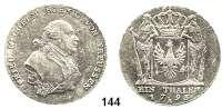 Deutsche Münzen und Medaillen,Preußen, Königreich Friedrich Wilhelm II. 1786 - 1797 Taler 1793 A, Berlin.  22,08 g.  Old. 3.  Jg. 25.  v.S. 37.  Dav. 2599.