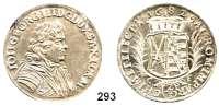 Deutsche Münzen und Medaillen,Sachsen Johann Georg III. 1680 - 1691 2/3 Taler 1682 C-F, Dresden.  15,60 g.  Kahnt 588.  Dav. 808.  Slg. Mb. 1230.