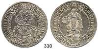 Deutsche Münzen und Medaillen,Salzburg, Erzbistum Johann Ernst von Thun und Hohenstein 1687 - 1709 Taler 1701.  29,42 g.  Probszt 1807.  Zöttl 2173.  Dav. 1234.