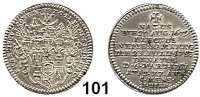 Deutsche Münzen und Medaillen,Bamberg, Bistum Franz Konrad von Stadion 1753 - 1757 Groschen 1757.  2,10 g.  Auf seinen Tod.  Schön 28.