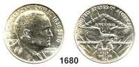 AUSLÄNDISCHE MÜNZEN,U S A  Gedenk Half Dollar 1936.  Arkansas   Joseph Taylor Robinson.  Schön 174.  KM 187.