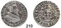Deutsche Münzen und Medaillen,Danzig, Stadt Sigismund III. 1587 - 1632 Ort (1/4 Taler) 1624.  6,30 g.  Dutkowski/Suchanek 167 II.