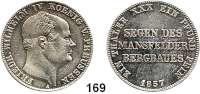 Deutsche Münzen und Medaillen,Preußen, Königreich Friedrich Wilhelm IV. 1840 - 1861 Ausbeutevereinstaler 1857 A.  Kahnt 380.  Thun 263.  AKS 79.  Jg. 85.  Dav. 776.