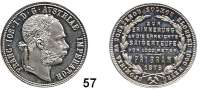 Österreich - Ungarn,Habsburg - Lothringen Franz Josef I. 1848 - 1916 Gulden