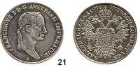 Österreich - Ungarn,Habsburg - Lothringen Franz I. (1792) 1806 - 1835 1/2 Taler 1831 A, Wien  Frühwald 264.  Jl. 207.