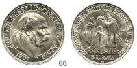 Österreich - Ungarn,Habsburg - Lothringen Franz Josef I. 1848 - 1916 5 Korona 1907 KB, Kremnitz.  40jähriges Krönungsjubiläum.  Frühwald 2194.  Jl. 416.  Schön 12.  KM 489.