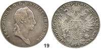Österreich - Ungarn,Habsburg - Lothringen Franz I. (1792) 1806 - 1835 Konventionstaler 1829 A, Wien.  Frühwald 194.  Jl. 198.  Kahnt 339.  Dav. 9.