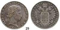 Österreich - Ungarn,Habsburg - Lothringen Ferdinand I., 1835 - 1848 Konventionstaler 1845 A, Wien.  Frühwald 772.  Jl. 246.  Kahnt 345.  Dav. 14.