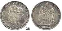 Österreich - Ungarn,Habsburg - Lothringen Franz Josef I. 1848 - 1916 Konventionstaler (Doppelgulden) 1854 A, Wien.  Hochzeit.  Frühwald 1901.  Jl. 300.  Dav. 19.