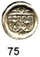 Deutsche Münzen und Medaillen,Brandenburg - Preußen Joachim I. 1499 - 1535 Hohlpfennig o.J., Crossen.  0,25 g.  Bahrfeldt 81 c.