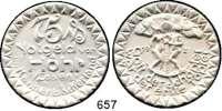 P O R Z E L L A N M Ü N Z E N,Münzen von anderen Deutschen Keramischen Fabriken Höhr 75 Pfennig 1921 grau, nicht glasiert.  Menzel 11709.