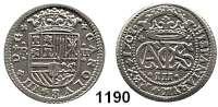 AUSLÄNDISCHE MÜNZEN,Spanien Karl III. von Habsburg 1700 - 1714 2 Reales 1708/7, Barcelona.  4,37 g.  Cayon 7980.