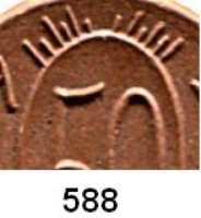 P O R Z E L L A N M Ü N Z E N,S T Ä D T E M Ü N Z E N Gollnow 50 Pfennig 1921 braun.  Menzel 9297.2.  Variante : Oben 12 statt 14 Strahlen.