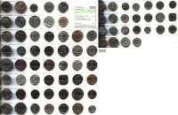 Notmünzen; Marken und Zeichen,0 L O T S     L O T S     L O T S LOT von 77 meist verschiedenen Städtenotgeldmünzen.
