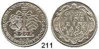 Deutsche Münzen und Medaillen,Hanau - Münzenberg Maria von Braunschweig für Wilhelm von Hessen-Kassel 1760 - 1764 20 Kreuzer 1764, Hanau.  6,65 g.  Schön 31.  Hoffm.2578.   Schütz 2043.