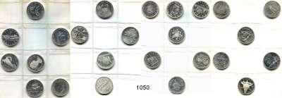 AUSLÄNDISCHE MÜNZEN,Kanada LOTS     LOTS     LOTS Album mit 71 Münzen vom Cent bis Dollar.  Darunter 37 Silbermünzen (28x 1 Dollar Silber).