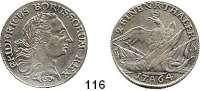 Deutsche Münzen und Medaillen,Preußen, Königreich Friedrich II. der Große 1740 - 1786 1/2 Taler 1764 A, Berlin. 11,12 g.  Kluge 135.  v.S. 512.  Olding 71 b2.