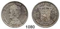 AUSLÄNDISCHE MÜNZEN,Niederlande Wilhelmina I. 1890 - 1948 1 Gulden 1911.  Schön 37.  KM 148.