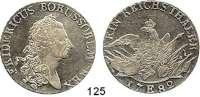 Deutsche Münzen und Medaillen,Preußen, Königreich Friedrich II. der Große 1740 - 1786 Taler 1782 E, Königsberg. 21,88 g.  Kluge 132.2.  v.S. 499.  Olding 111b1.  Dav. 2590.