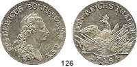 Deutsche Münzen und Medaillen,Preußen, Königreich Friedrich II. der Große 1740 - 1786 Taler 1784 A, Berlin. 22 g.  Kluge 123.4.  v.S. 470.  Olding 70.  Dav. 2590.