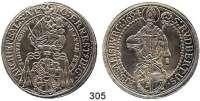 Deutsche Münzen und Medaillen,Salzburg, Erzbistum Johann Ernst von Thun und Hohenstein 1687 - 1709 Taler 1694.  28,79 g.  Zöttl 2166.  Probszt 1800.  Dav. 3510.