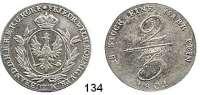 Deutsche Münzen und Medaillen,Preußen, Königreich Friedrich Wilhelm III. 1797 - 1840 2/3 Taler 1801.  Handelsmünze.  Kahnt 359.  Jg. 184.  v.S. 125.  Old. 177