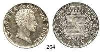 Deutsche Münzen und Medaillen,Sachsen Anton 1827 - 1836 Konventionstaler 1828 S, Dresden.  Kahnt 433.  Thun 307.  AKS 64.  Jg. 54.  Dav. 865.