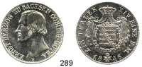 Deutsche Münzen und Medaillen,Sachsen - Coburg und Gotha Ernst II. 1844 - 1893 Taler 1846 F, Dresden.  Kahnt 493,  Thun 364.  AKS 100.  Jg. 282.  Dav. 821.