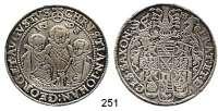 Deutsche Münzen und Medaillen,Sachsen Christian II., Johann Georg und August 1591 - 1611 Taler 1593 HB, Dresden.  28,3 g.  Keilitz/Kahnt 186.  Mb. 776.  Dav.9820.